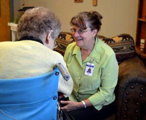 Volunteer Chaplain with LTC Resident
