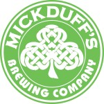 MickDuff's round logo updated with font, color, etc. to match new 2015 logo